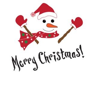 300x300 Free Clipart Merry Christmas Text