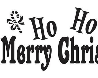 340x270 Ho Ho Ho Merry Christmas Clip Art Cliparts