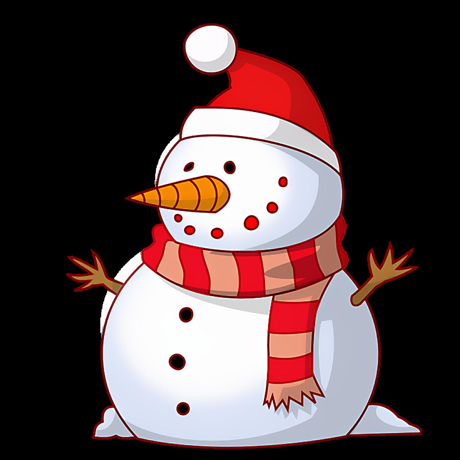 1600x1600 Clip Art Snowman