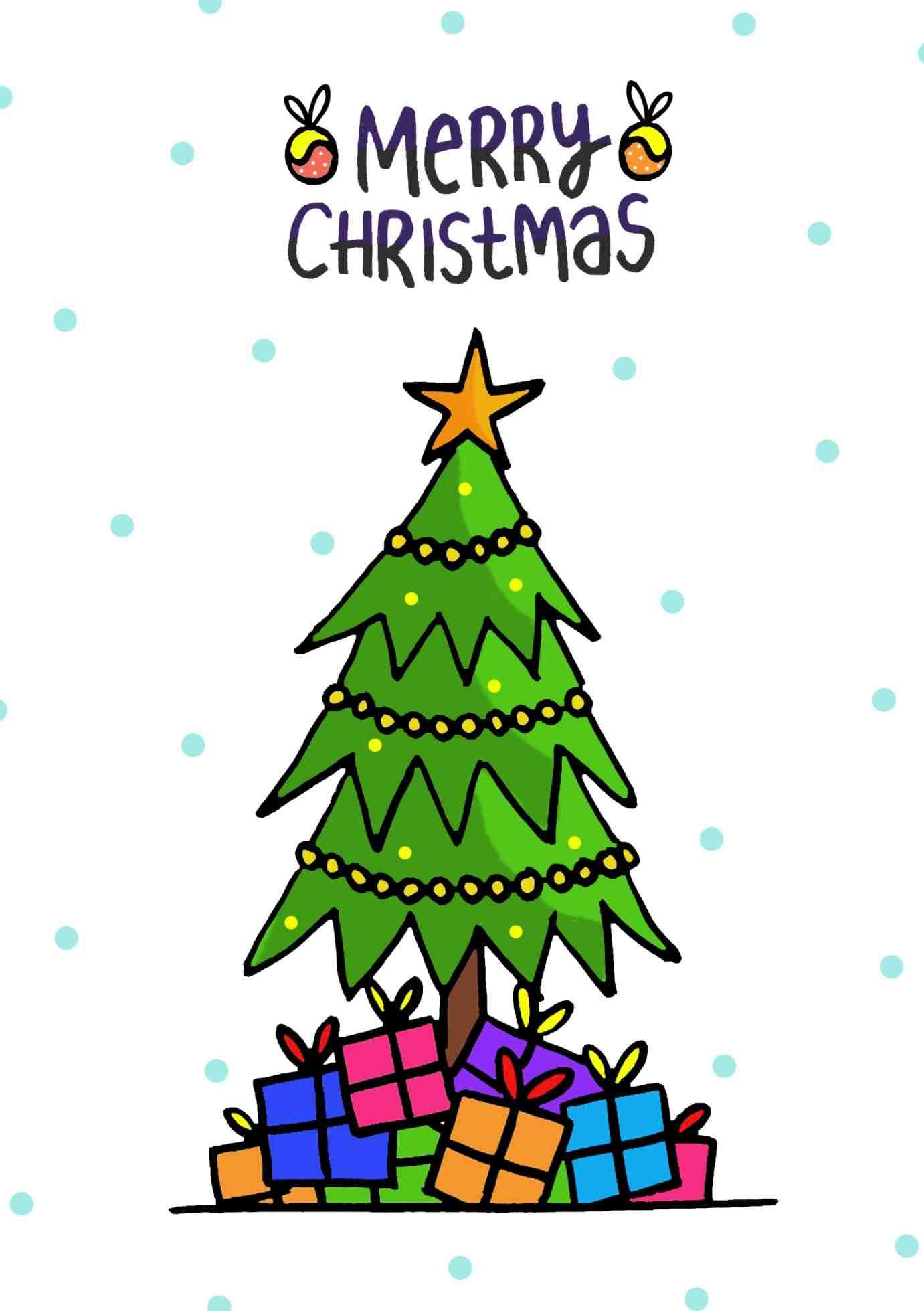 1381x1959 Merry Christmas Tree Clip Art Cheminee.website
