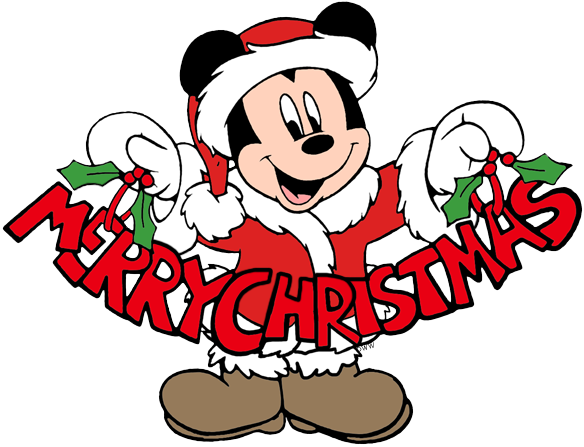 584x447 Mickey Mouse Christmas Clip Art 2 Disney Clip Art Galore