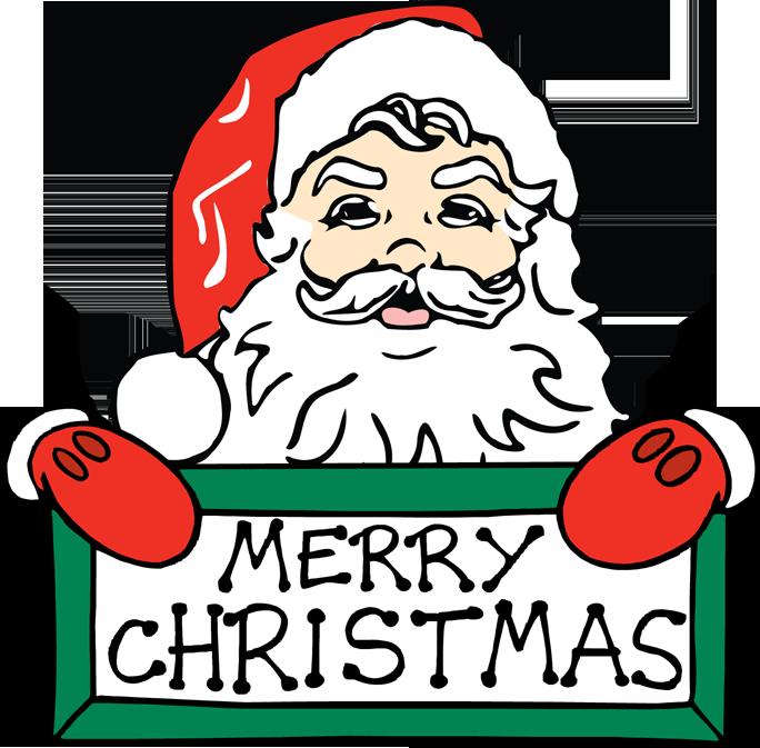684x673 Merry Christmas Clip Art Words