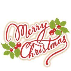236x236 A Holly Jolly Christmas Title Svg Scrapbook Clip Art Christmas Cut