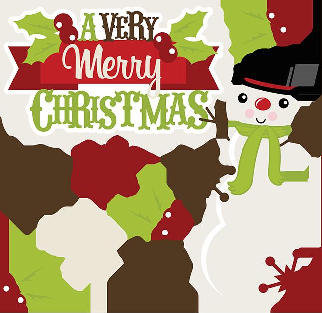 648x630 A Very Merry Christmas Svg Christmas Clipart Cute Clipart Cute