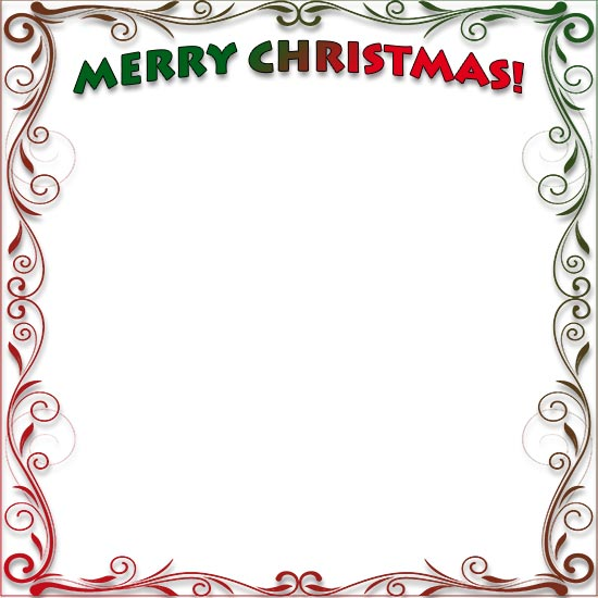 550x550 Publisher Elf Border Merry Christmas Amp Happy New Year Arts