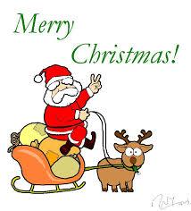 214x236 Santa Merry Christmas Clip Art
