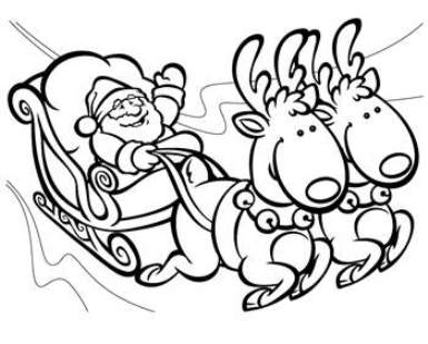 385x309 crayola christmas coloring pages