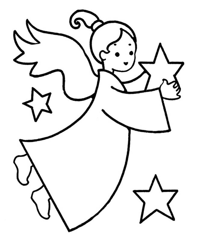 Merry Christmas Coloring Pages | Free download best Merry Christmas ...