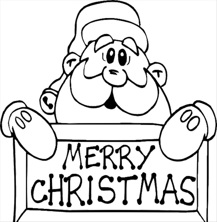 750x766 Merry Christmas Coloring Pages Printable Ir4