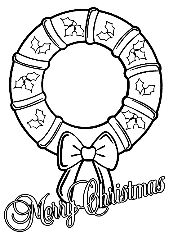 558x763 Christmas Coloring Pages