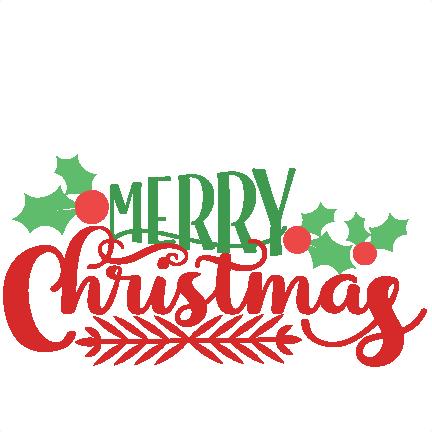 432x432 Merry Christmas Clip Art