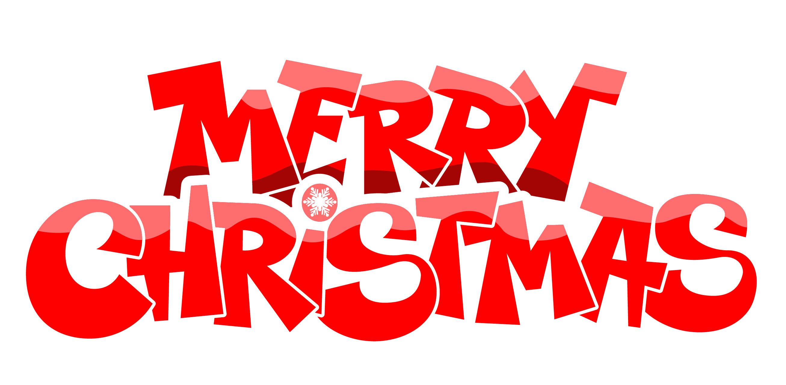 2613x1280 Merry Christmas Clip Art