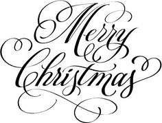 Merry Christmas Images Black And White