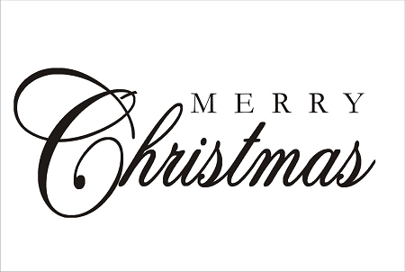 450x302 Merry Christmas Sign