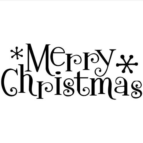 500x500 Merry Christmas Wall Saying Vinyl Lettering Home Decor Decal