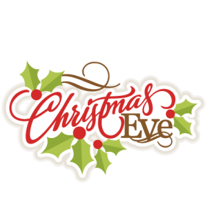 300x300 Christmas Eve Clip Art