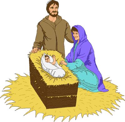 400x390 Merry Christmas Nativity Clipart Clipart Panda