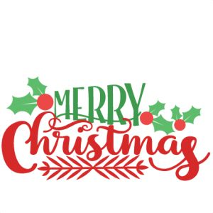 Merry Christmas Nativity Clipart