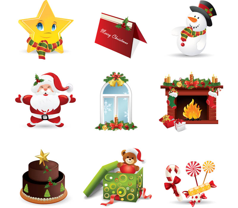 800x700 Christmas Vector Clipart Vector Graphics Blog