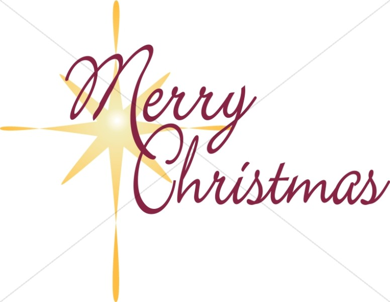 776x600 Religious Clipart Merry Christmas