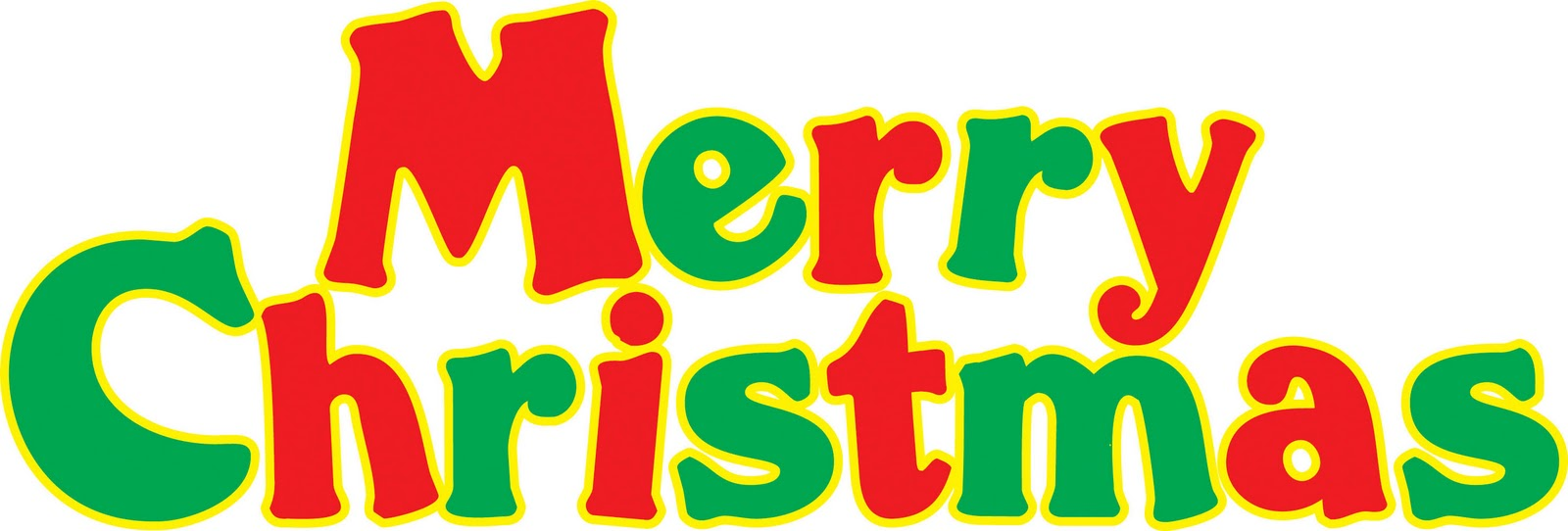 1600x542 Sign Clipart Merry Christmas