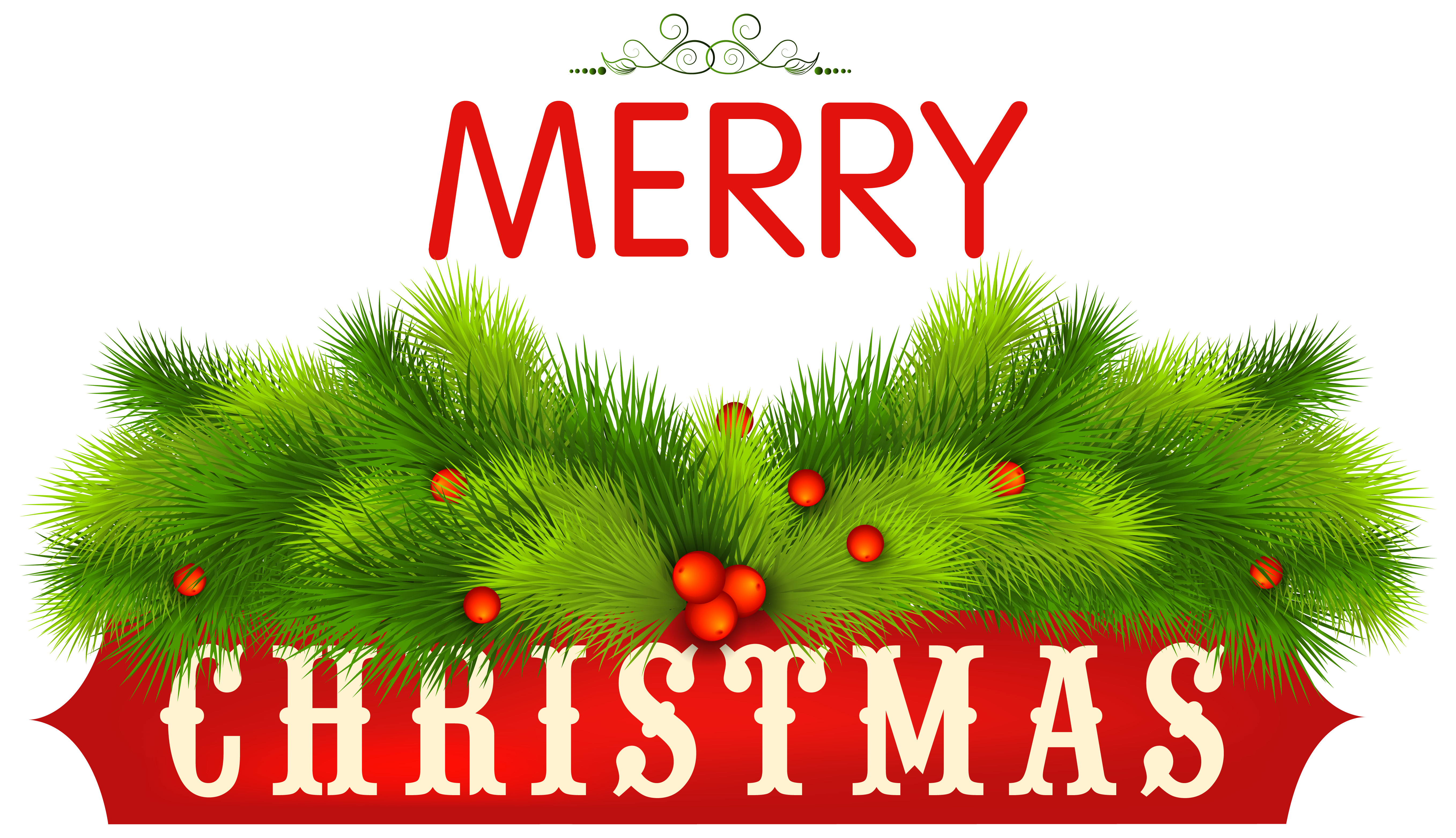 5430x3127 Merry Christmas Decorative Png Clipart Imageu200b Gallery