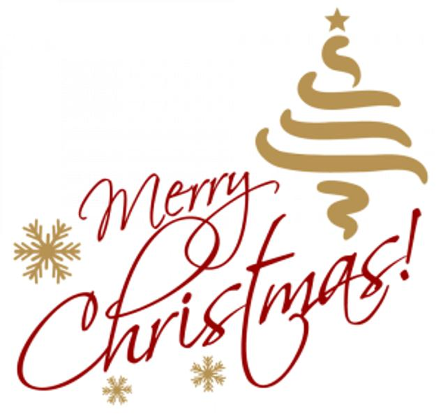 632x600 Merry Christmas Png