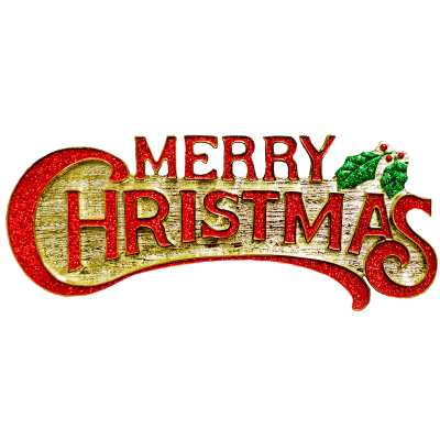 400x400 Merry Christmas Sign Transparent Png