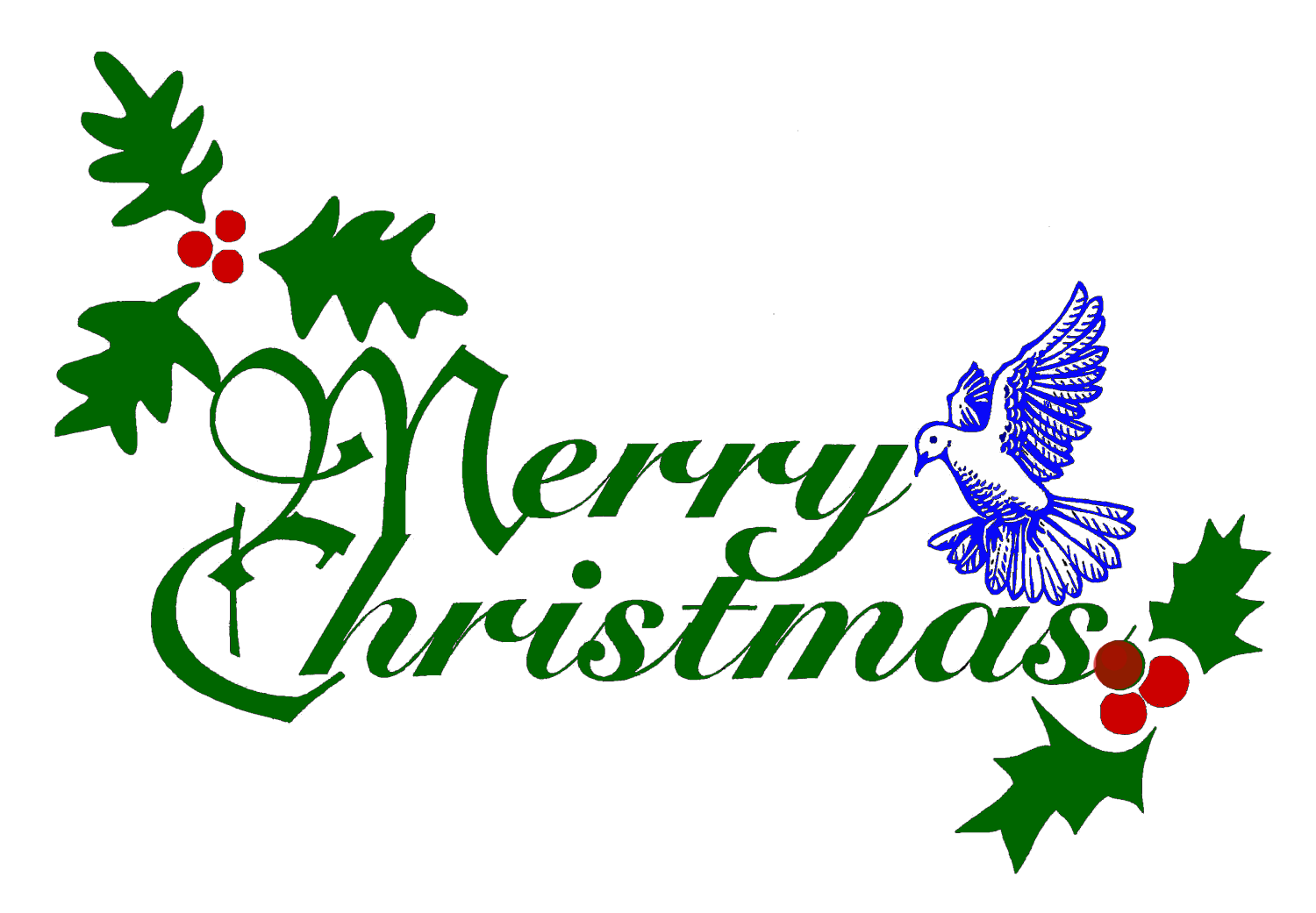 1500x1041 Merry Christmas Png