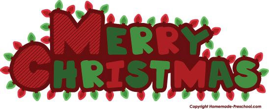548x223 Christmas Lights Clipart Merry Christmas