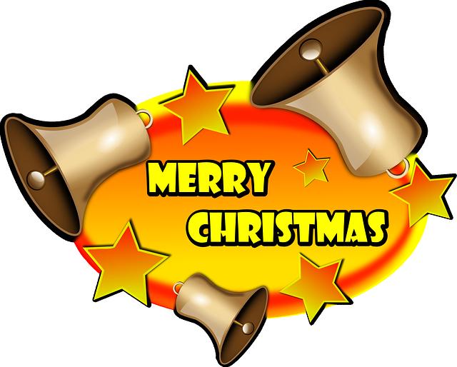 640x514 Merry Christmas, Christmas, Stars, Badge, Oval, Text