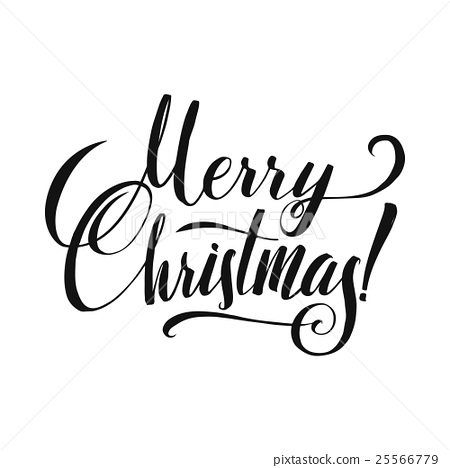 450x468 Merry Christmas Calligraphy.