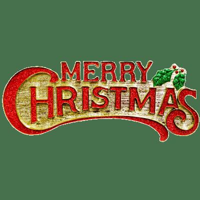 400x400 Merry Christmas Playful Text Transparent Png