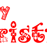 180x180 Merry Christmas Text Png Transparent Images Png All