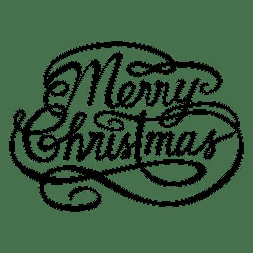 512x512 Merry Christmas Calligraphic Logo