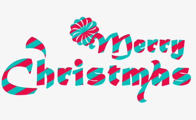 650x400 Merry Christmas English Font, Christmas, Creative Christmas