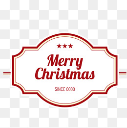 260x261 Crimping Merry Christmas Banner Vector, Merry Christmas Banner