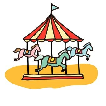 340x340 Free Cliparts Merry Go Round, Garden Land