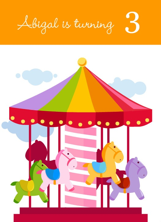 525x725 18 Best Merry Go Round Party Images Tutorials