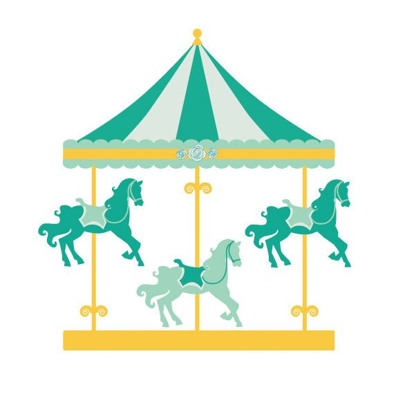 570x570 Image Of Carousel Clipart