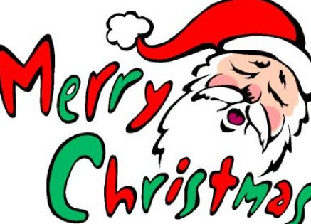 437x315 Merry Christmas Funny Clipart