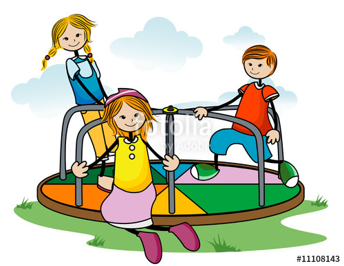 500x387 Merry Go Round Kids Stock Image And Royalty Free Vector Files