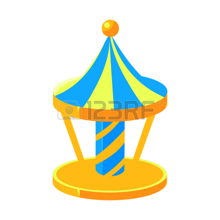 450x450 910 Merry Go Round Stock Vector Illustration And Royalty Free