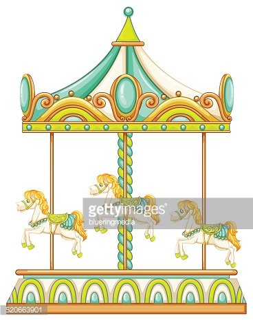 368x465 Merry Go Round Stock Vectors