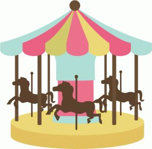 300x293 Carneval Clipart Merry Go Round