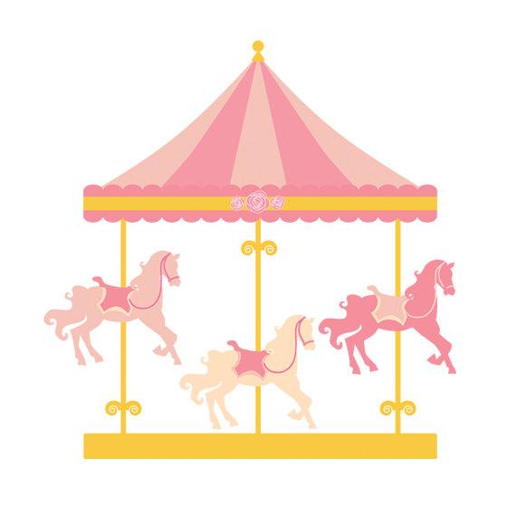 570x570 Carousel Clipart Merry Go Round Clip Art Carnival Clip Art