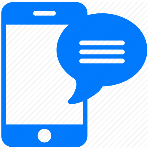 512x512 Telephone Clipart Text Message