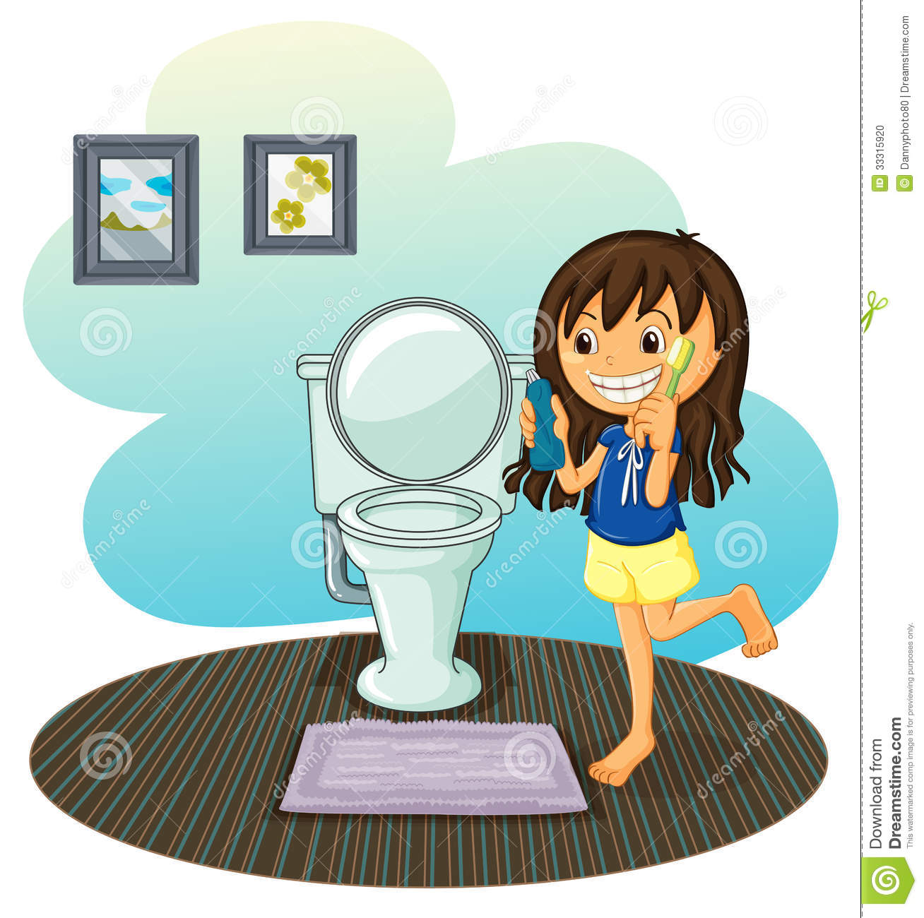 Messy Bathroom: Free Download Best Messy Room Clipart