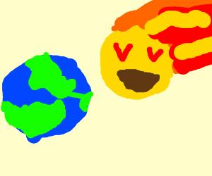 300x250 Armageddon But The Meteor Is An Emoji