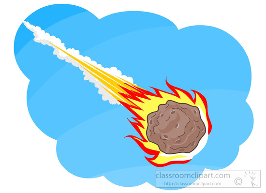 550x399 Comet Clipart Asteroid